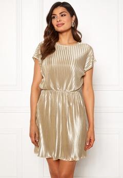 Chiara Forthi Isabelle plissé dress Beige Bubbleroom.eu