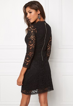 Chiara Forthi Janina Lace Dress Black Bubbleroom.eu