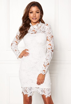 Chiara Forthi Jaqueline dress White Bubbleroom.eu