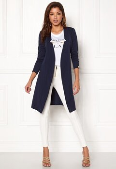 Chiara Forthi Joinville Spring Coat Dark blue Bubbleroom.eu