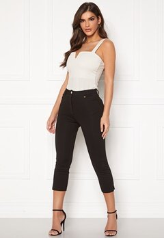 Chiara Forthi Juliana high water pants Black Bubbleroom.eu