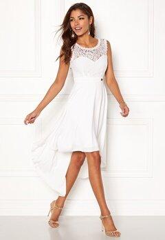 Chiara Forthi Kimberly Highlow Dress Antique white Bubbleroom.eu