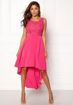 Chiara Forthi Kimberly Highlow Dress Cerise Bubbleroom.eu