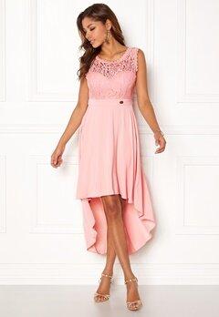 Chiara Forthi Kimberly Highlow Dress Light pink Bubbleroom.eu