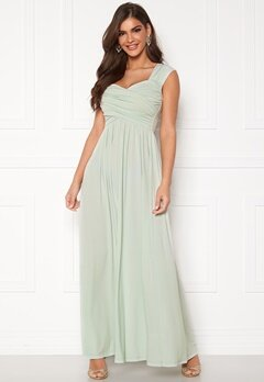 Chiara Forthi Kirily Maxi Dress Dusty green Bubbleroom.eu