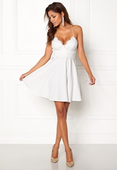 Chiara Forthi Kylee Dress White Bubbleroom.eu
