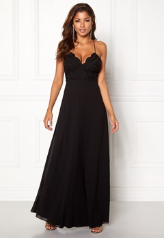 Chiara Forthi Kylee Maxi Dress Black Bubbleroom.eu