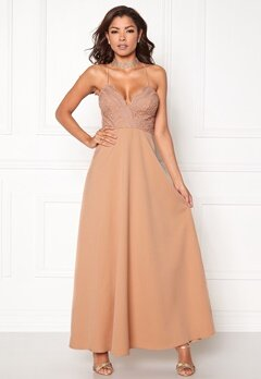 Chiara Forthi Kylee Maxi Dress Light pink Bubbleroom.eu