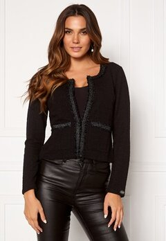 Chiara Forthi Livia classic jacket Black Bubbleroom.eu