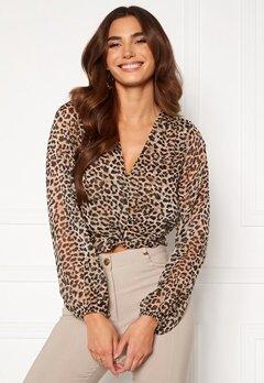 Chiara Forthi Lorenza blouse Leopard Bubbleroom.eu