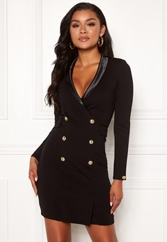 Chiara Forthi Lucca blazer dress Black Bubbleroom.eu
