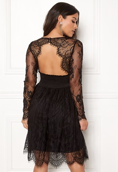 Chiara Forthi Lucette lace dress Black Bubbleroom.eu