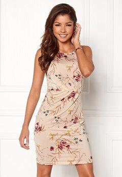 Chiara Forthi Marjorie Sleeveless Dress Beige / Floral Bubbleroom.eu