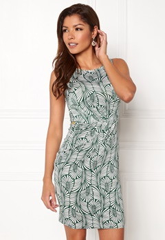 Chiara Forthi Marjorie Sleeveless Dress Green / Patterned Bubbleroom.eu