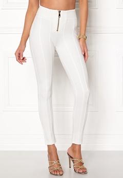 Chiara Forthi Marquesa trousers Offwhite Bubbleroom.eu