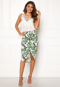 Chiara Forthi Mauritius wrap skirt Green / Patterned Bubbleroom.eu