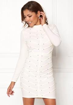 Chiara Forthi Micah studded dress Offwhite / Gold Bubbleroom.eu