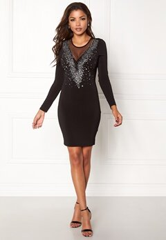Chiara Forthi Montella dress Black / Silver Bubbleroom.eu
