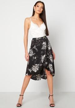 Chiara Forthi Nadia wrap skirt Black / Patterned Bubbleroom.eu