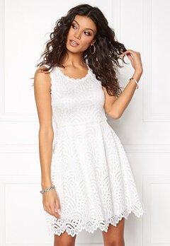 Chiara Forthi Nicoletta Lace Dress Winter white Bubbleroom.eu