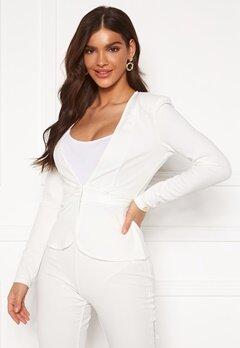 Chiara Forthi Nikita Suit Jacket White Bubbleroom.eu