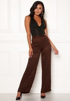 Chiara Forthi Noemi Sleek Pants Brown Bubbleroom.eu