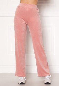 Chiara Forthi Nova velvet pants Dusty pink Bubbleroom.eu
