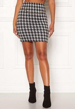 Chiara Forthi Peroni chain skirt Black / White Bubbleroom.eu