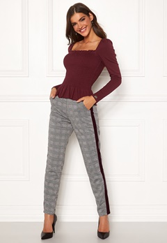 Chiara Forthi Pietra pants Grey / Checked Bubbleroom.eu