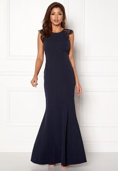 Chiara Forthi Sancia Dress Navy Bubbleroom.eu