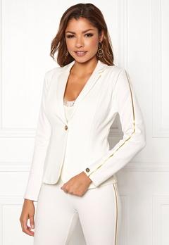 Chiara Forthi Shani suit jacket White / Gold Bubbleroom.eu
