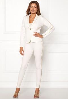 Chiara Forthi Shani suit pants White / Gold Bubbleroom.eu