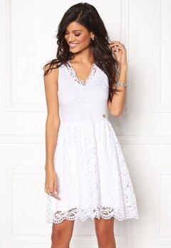 Chiara Forthi Sherbelle Lace Dress Ivory white Bubbleroom.eu