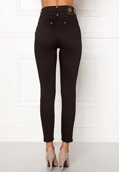 Chiara Forthi Sky-High Megastretch Ankle Jeans Black / Gold Bubbleroom.eu