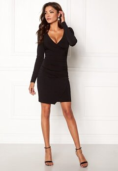 Chiara Forthi Soprano Long Sleeve Dress Black Bubbleroom.eu