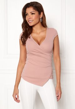 Chiara Forthi Soprano Wrap Top Light pink Bubbleroom.eu