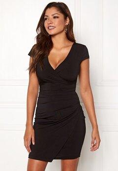 Chiara Forthi Soprano Wrap Dress Black Bubbleroom.eu