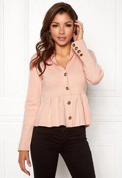 Chiara Forthi Stefania Knit Jacket Pink Bubbleroom.eu