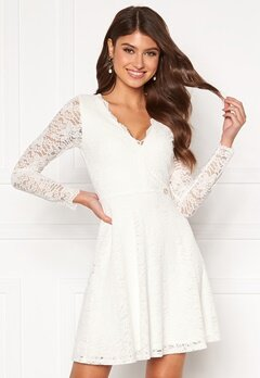 Chiara Forthi Stephanie dress White Bubbleroom.eu