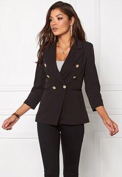 Chiara Forthi Tailored Blazer Black / Gold Bubbleroom.eu
