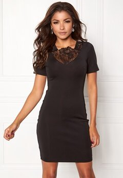 Chiara Forthi Tamara Dress Black Bubbleroom.eu