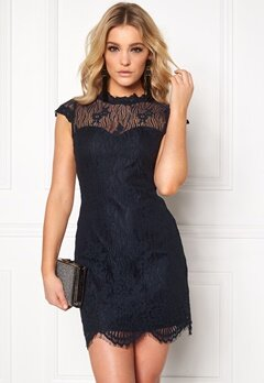 Chiara Forthi Tempesty Lace Dress Midnight blue Bubbleroom.eu