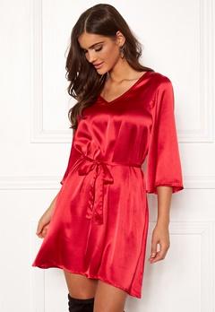 Chiara Forthi Turin tie belt dress Red Bubbleroom.eu