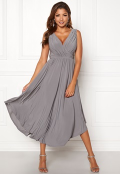 Chiara Forthi Valeria Dress Grey Bubbleroom.eu