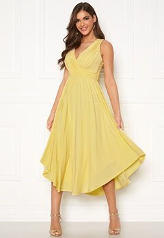 Chiara Forthi Valeria Dress Yellow Bubbleroom.eu