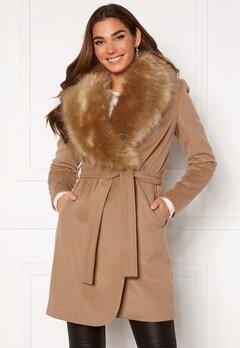 Chiara Forthi Verona Coat Camel Bubbleroom.eu