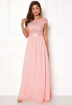 Chiara Forthi Viviere Sparkling Gown Pink Bubbleroom.eu