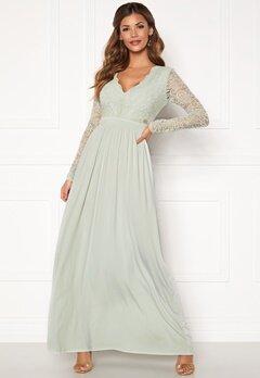 Chiara Forthi Wendolyn gown Dusty green Bubbleroom.eu