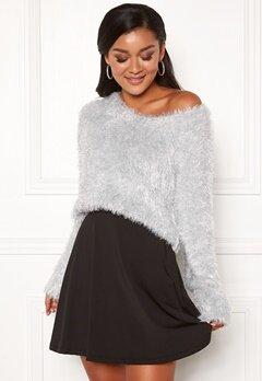Chiara Forthi Woop sparkle sweater Silver Bubbleroom.eu