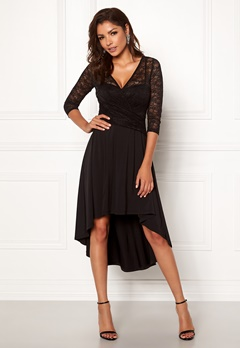 Chiara Forthi Yaelle dress Black Bubbleroom.eu